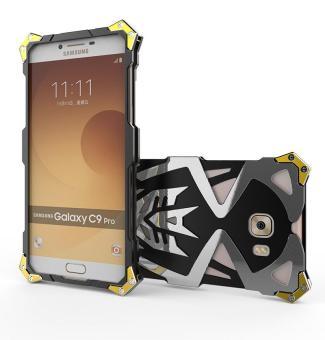 Metal Case Shockproof Phonecase Bumper Cases for Samsung C9 Pro -intl