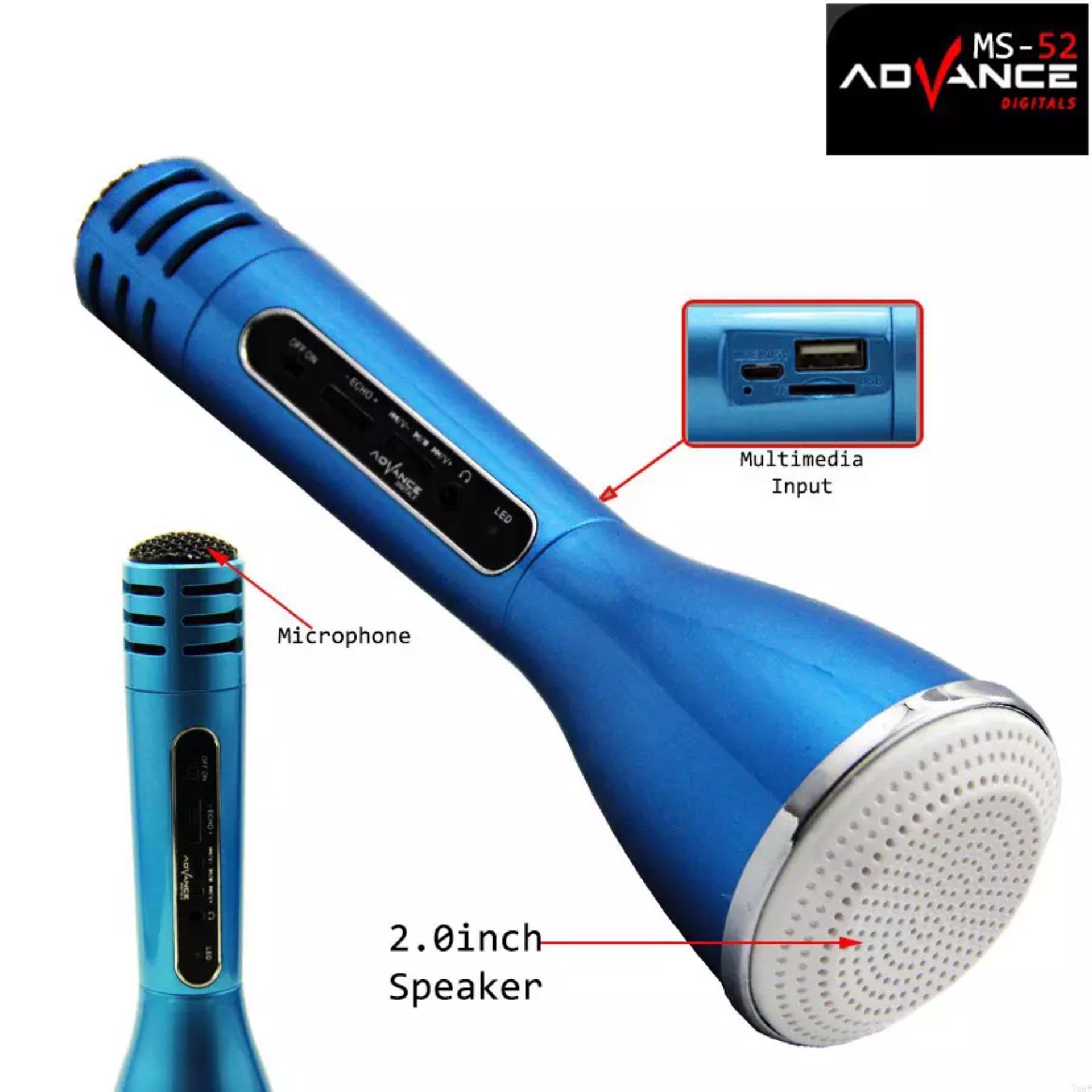 Advance Speaker R1 Gold Daftar Harga Termurah Dan Terlengkap Di Er Mic Karaoke Bluetooth Ms52bt