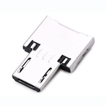 Micro USB/USB 2,0 OTG USB dengan gantungan kunci - hitam -International - 3