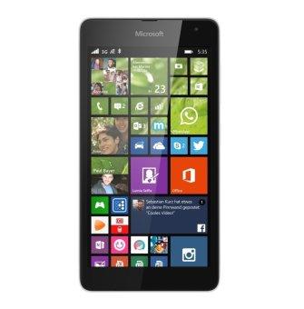 Microsoft Nokia Lumia 535 Dual Sim - 8GB - Putih
