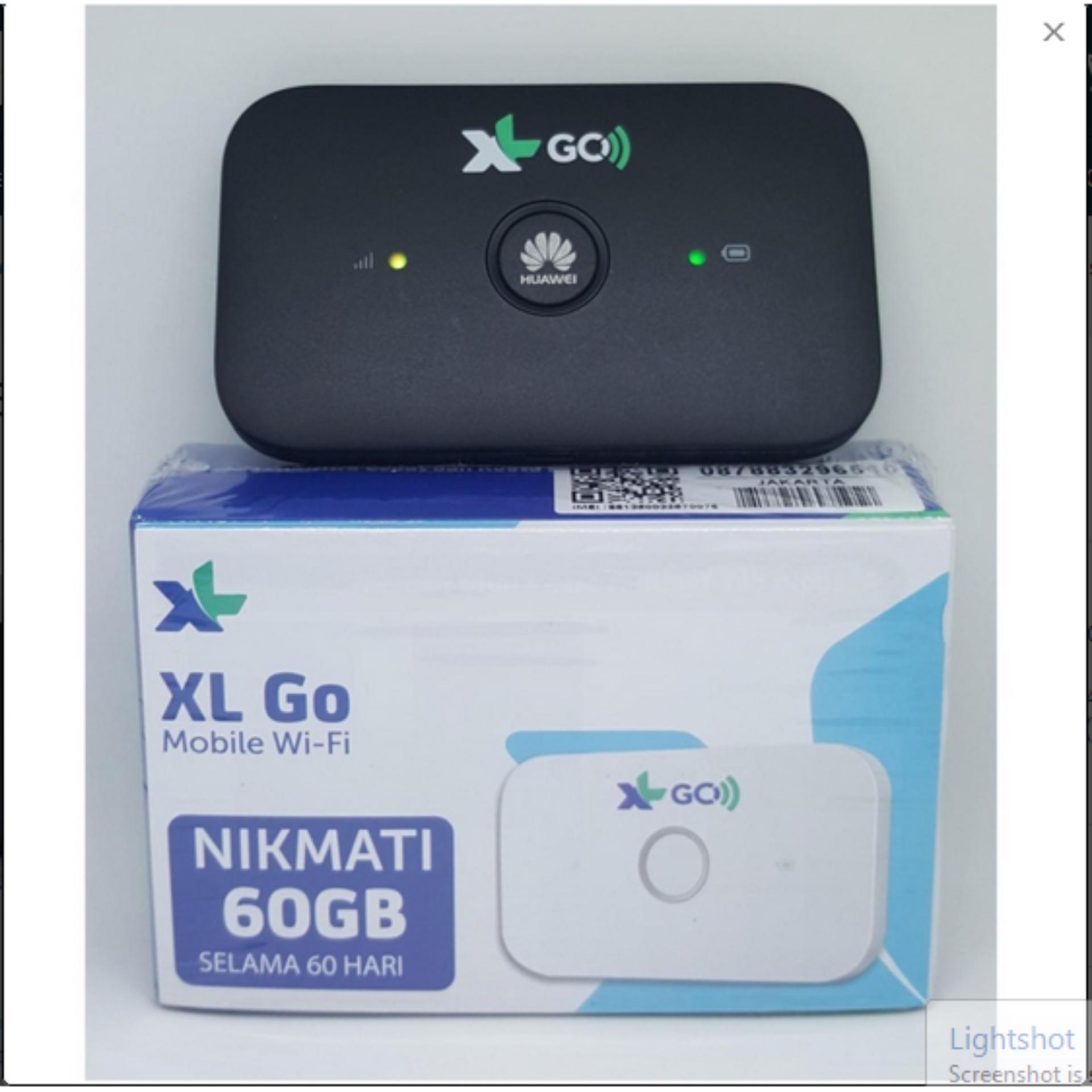 ... MiFi Modem WiFi 4G Huawei E5573 XL Go Free 60Gb 60Hari ...