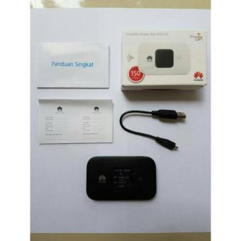 Mifi Modem Wifi 4G Huawei E5577 Unlock All Operator - Hitam