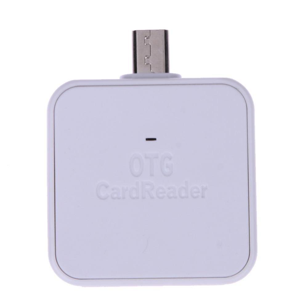 Mini 2-in-1 Micro USB 2.0 OTG Adapter SD TF .