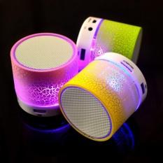 Mini Speaker Portable Bluetooth Wireless With Superbass Stereo LED - Random