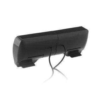 Mini Speaker Stereo USB portabel Soundbar untuk Notebook Laptop Mp3 pemutar musik ponsel komputer PC dengan klip - 4