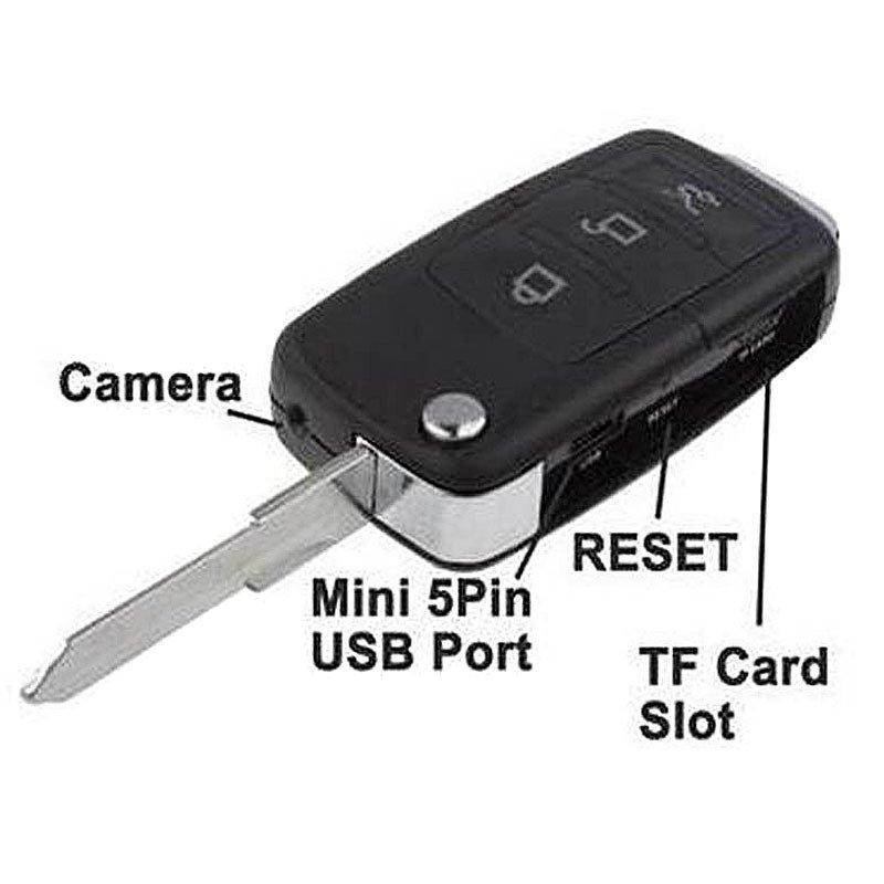 ... Mini Spy Car Key Chain DV Motion Detection DVR Camera Hidden Webcam Camcord S818 ...