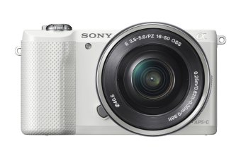 Mirrorless Digital Camera with 16-50mm OSS Lens (White) - intl