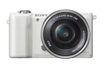 Mirrorless Digital Camera with 16-50mm OSS Lens (White) - intl