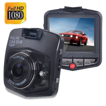 Mobil Mini Kamera DVR Mobil Kamera Video 1080P Full HD VideoPerekam Parkir Registrasi G-Sensor Night Vision Kamera Dasbor(Hitam)