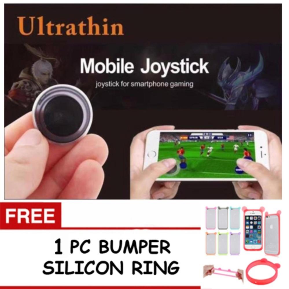 ... Mobile Joystick Mini - 2 set (4 pcs) + FREE 1 Pc Bumper Silikon ...