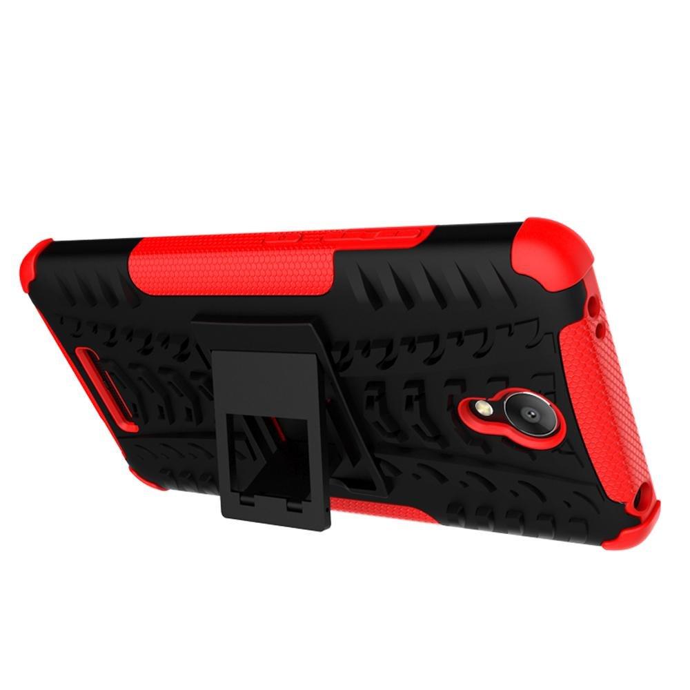 ... Mooncase Case For Xiaomi Redmi Note 2 Detachable 2 in 1 Hybrid Armor Design Shockproof Tough ...