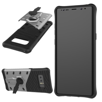 MOONCASE for Samsung Galaxy Note 8 case 360?Rotate Kickstand ShellHybrid Shock-Absorbing Dual Layer Durable Armor Case Cover (AsShown) - intl