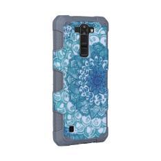 Moonmini Case for LG K7 Forest Pattern Hybrid Combo Shockproof Back Case - Grey - intl