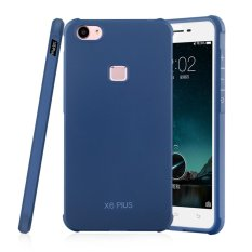 Moonmini Case for Vivo X6 Plus Auspicious Dragon Soft Silicone Case - Sapphire Blue - intl