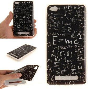 Gambar Moonmini Case for Xiaomi Redmi 4A Ultra Slim Soft TPU Back Case Math Formulas intl