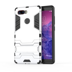 Moonmini Lightweight Hybrid Combo High Impact Rugged Shockproof Case Cover Protective Shield with Kickstand for ZTE Nubia Z17S - intl