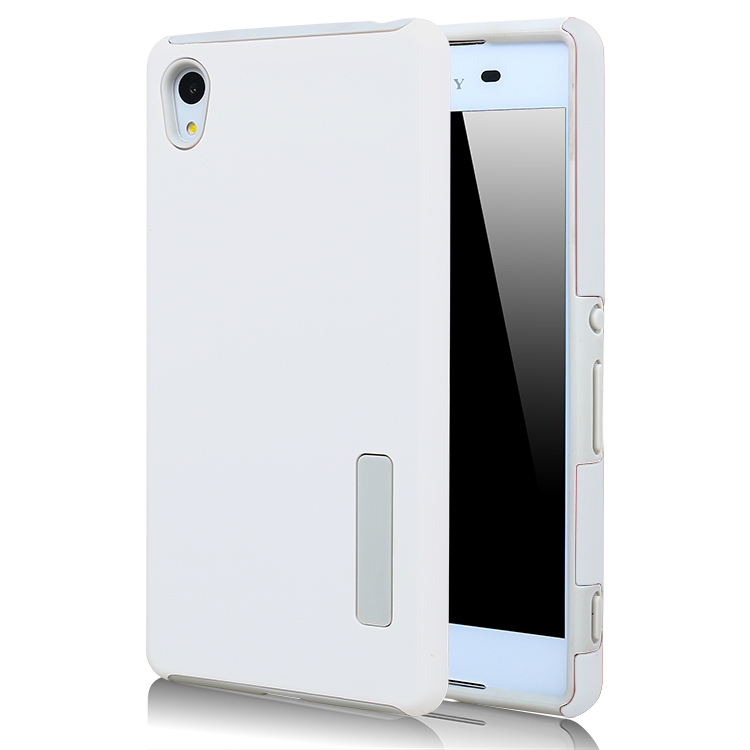 ... Moonmini PC /TPU Back case for Sony Xperia Z4 (White) ...
