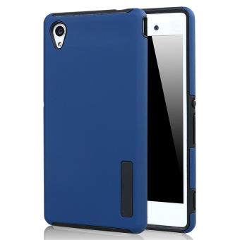 Moonmini PC/TPU Back case for Sony Xperia M4 Aqua (Blue)