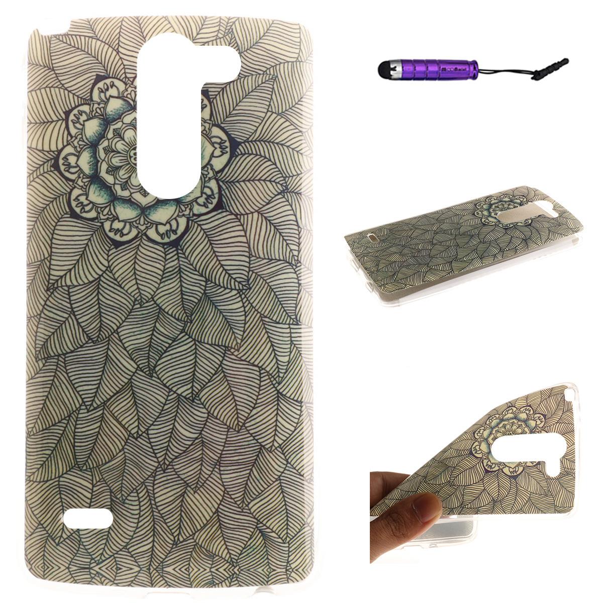 ... Moonmini Ultra Slim Fit Soft TPU Phone Back Protector Case Coverfor LG G3 Stylus D690 ...