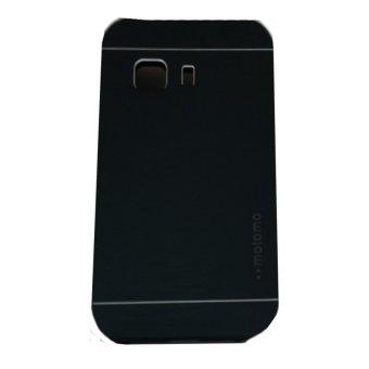Motomo Hardcase For Samsung Galaxy Young 2 G130 Rubber Polycarbonat+ Metal Hardcase Hard Back Case /