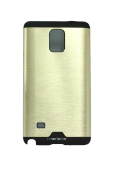 Motomo Ino Metal Case for Samsung Galaxy Note 4 - Gold