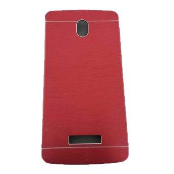 Motomo Oppo Yoyo / R2001 Metal Hardcase / Metal Back Cover /Hardcase Backcase / Metal Case - Merah
