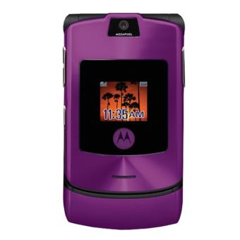 Motorola RAZR V3i - Purple - Grade A