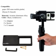 Mount Plate Adapter Switch For GoPro 4 3+ For Osmo Zhiyun Mobile Gimbal Handhel - intl