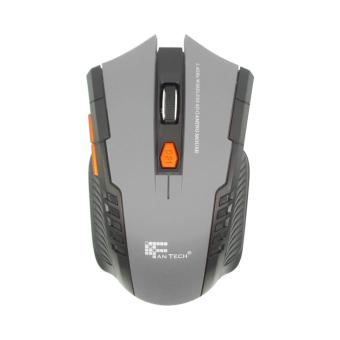 Mouse Gaming Wirelles w4 Hitam
