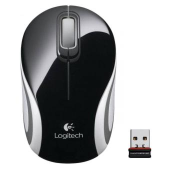 MOUSE WIRELESS LOGITECH M187 - HITAM