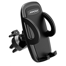 Mpow Air Vent Car Mount Holder, Universal Cell Phone Cradle with 3-level Adjustable Clamp for iPhone X 8/8s 7 7 Plus 6s Plus 6s 6 SE Samsung Galaxy S8 Plus S8 Edge S7 S6 Note 8 5 Nexus 6 & Smartphones - intl
