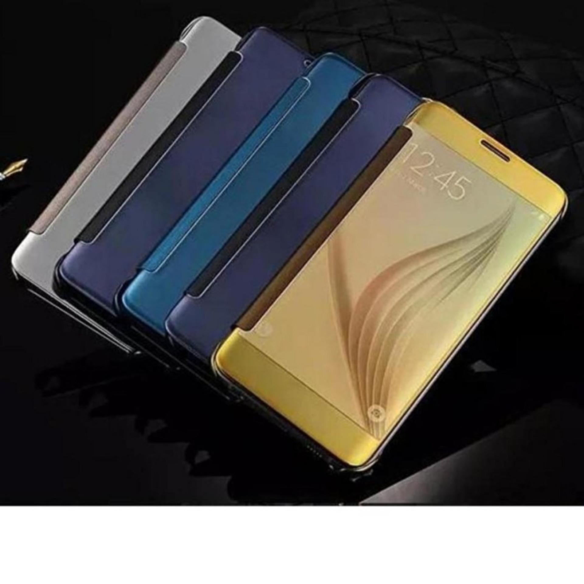 Case Samsung Galaxy A5 2017 Flipcase Flip Mirror Cover S View Source · Galaxy A3 2017 A320 Flipcase Flip Mirror Cover SView Transparan Auto
