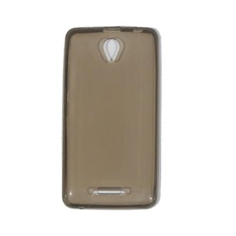 MR Softshell For Lenovo A5000 Soft Jelly Case Air Case 0.3mm /Silicone / Soft Case / Softjacket / Case Handphone / Casing HP -Hitam