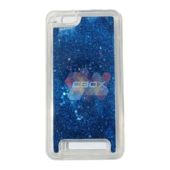 MR softshell Water Glamour Lenovo Vibe C A2020 Soft Case GlitterPolos / Casing Lenovo - Biru Tua
