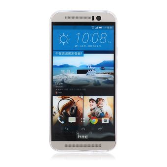 MSK Soft Gel TPU Case for HTC One M9 Durable Silicone Skin CoverFashion Pattern (Multicolor)