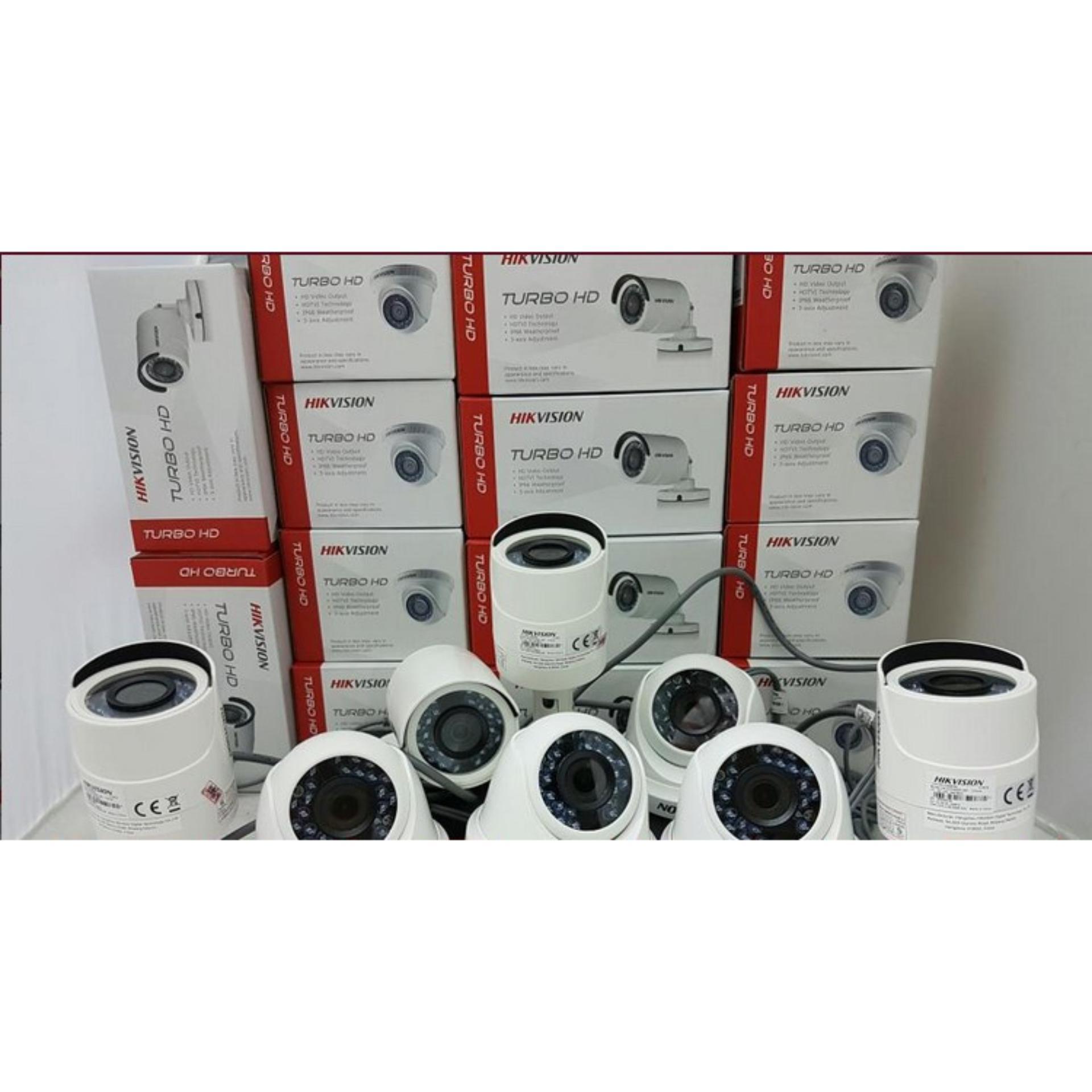 ... Murah PAKET CCTV 8CH Hikvision Full HD 2MP Komplit Siap Pasang ...