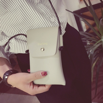 Musim Panas Mini Dompet Kartu Handphone Tas