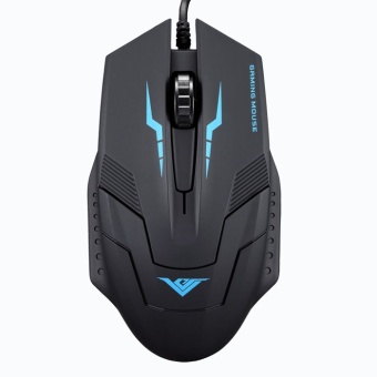 Pelacakan Harga New 1600 DPI 3 Button Optical USB Wired Gaming Mouse Mice For PCLaptop -