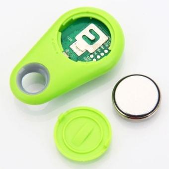 New 2-in-1 Bluetooth 4.0 GPS Tracker Self-Portrait Anti-lost AlarmDevice Green - intl