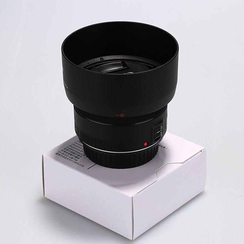 New ES68 ES-68 Camera Lens Hood for Canon EOS EF 50mm f/1.8 ...