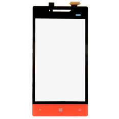 New Touch Screen Digitizer Glass Parts For HTC Windows Phone 8S A620e A620t (Red)