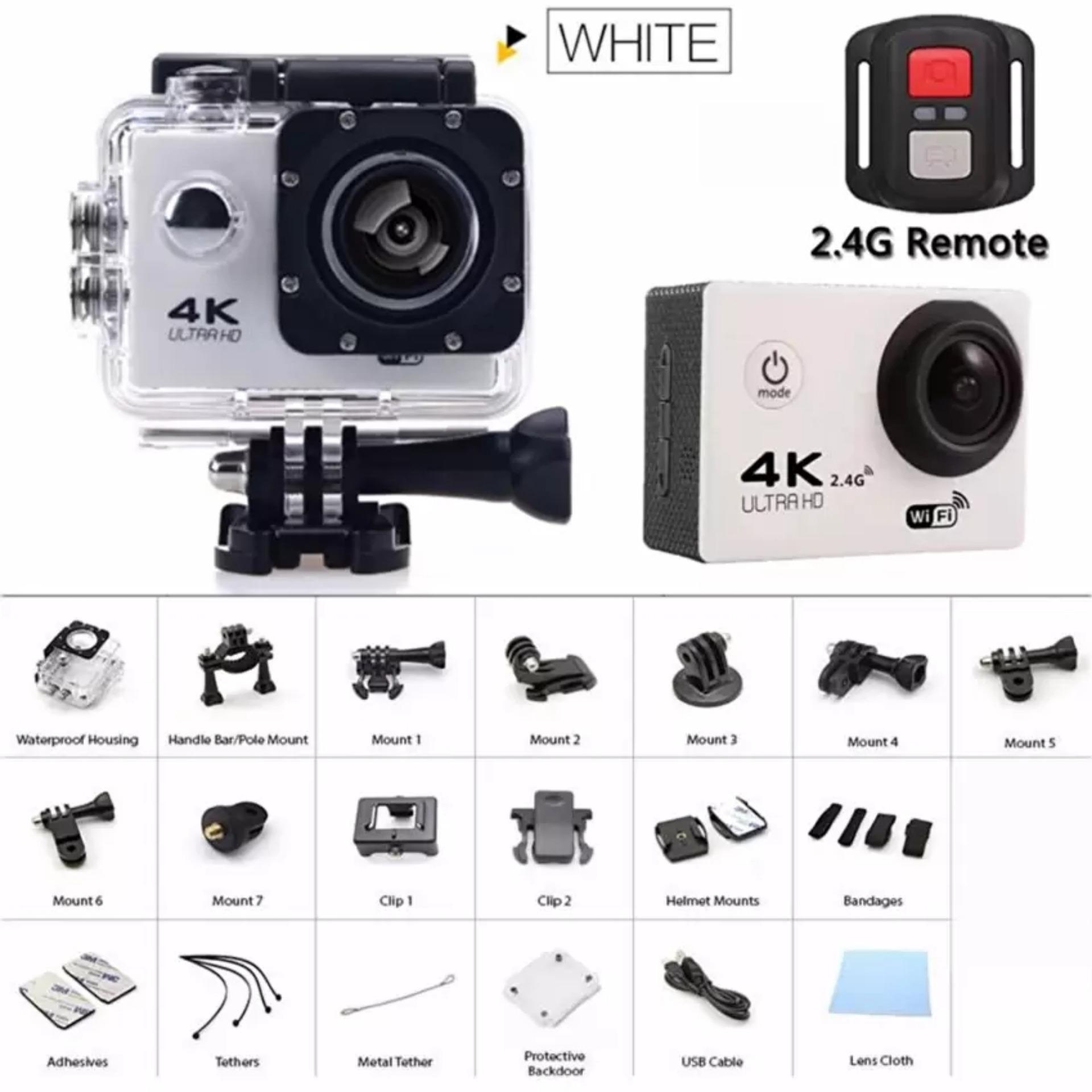 Jual Beli Newest Gopro Hero 4 Style Action Camera F60r Ultra Hd 4k Kamera Sport Go Pro Kogan Wifi Underwater 30m Sports