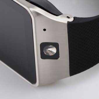 NFC Bluetooth Cerdas Perhiasan Layar Sentuh Olahraga Untuk TeleponAndroid Tahan Air (Hitam) - 2