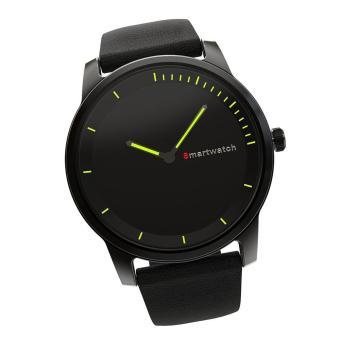 niceEshop pria jam tangan pintar, putaran waktu Standby layar Super Bluetooth 4.0 tahan air IP68 jam pintar dengan multi-fungsi tidur Monitor, pesan pengingat, manajemen ilmiah sesuai untuk IOS/Android smartphone - Internasional - 4