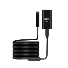niceEshop WiFi 8mm 720 P megapixel HD Nirkabel endoskop Borescope, tahan air inspeksi ular kamera