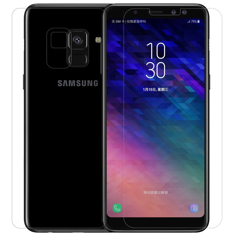 Nillkin 0.2mm Anti-Burst Tempered Glass Protective Film Screen Protector For Samsung Galaxy A8