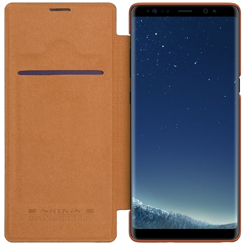 Nillkin case for Samsung Galaxy note 8 Leather flip cover Premium phone bag .