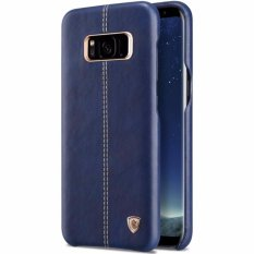 Nillkin Englon Leather Cover case Samsung Galaxy S8 Plus - Biru