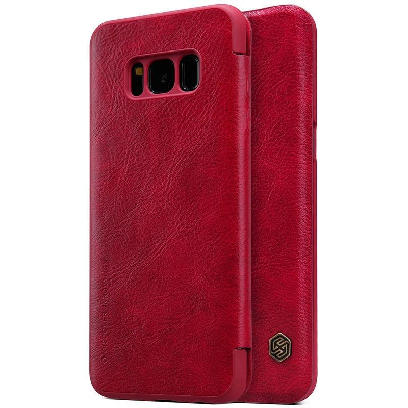 ... Nillkin Flip Cover for Samsung Galaxy S8 Leather case Ultra thinphone bag shell case for Samsung ...