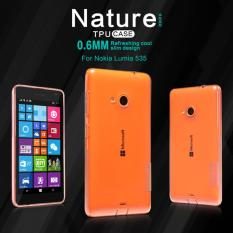 Nillkin TPU Case (Nature TPU) - Microsoft Lumia 535 Brown/Coklat